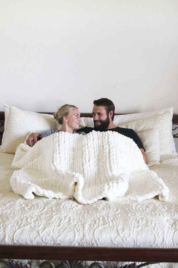 The CoCo - Chunky Knit Blanket