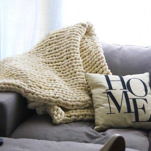 The Romeo - washable wool blanket