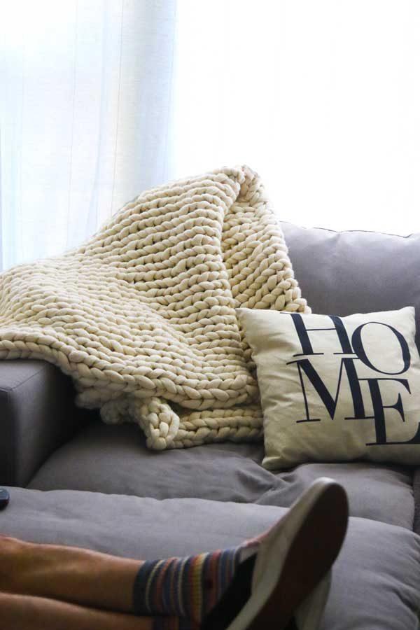 The Romeo - washable wool blanket