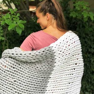 The Peter - cotton chunky knit blanket